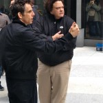 With star and director, Ben Stiller