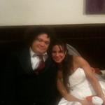 With international star, Kate del Castillo, on the set of THE MIRACLE OF SPANISH HARLEM.